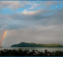 Dunk Island Rainbow by Susan Kelly
