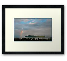 Dunk Island Rainbow Framed Print