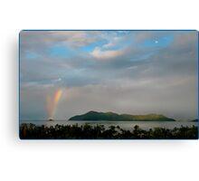 Dunk Island Rainbow Canvas Print