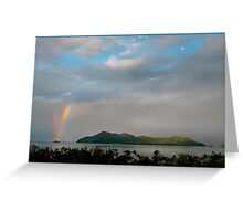 Dunk Island Rainbow Greeting Card