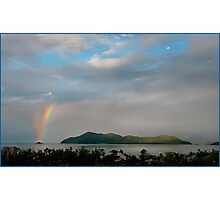 Dunk Island Rainbow Photographic Print