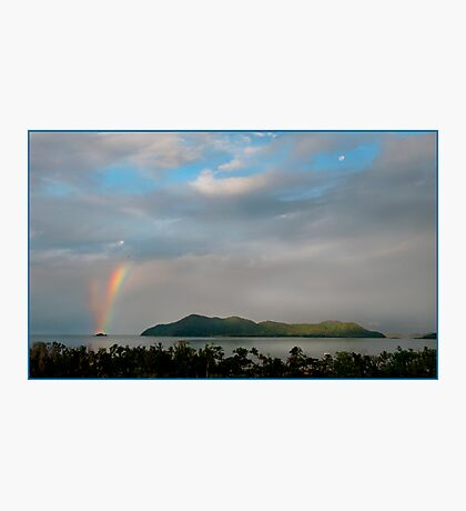 Dunk Island Rainbow Photographic Print