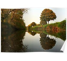 A Rivered Mirror Poster