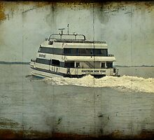 Seastreak Catamaran - Ferry From Atlantic Highlands to NYC by MotherNature