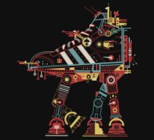 Robot Walker by Petros Afshar