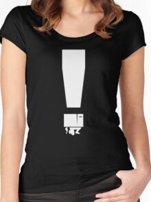 EXCLAMATION BOX! Women's Fitted Scoop T-Shirt