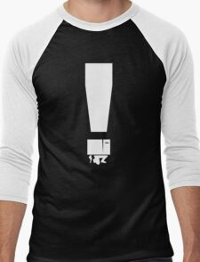 EXCLAMATION BOX! Men's Baseball ¾ T-Shirt