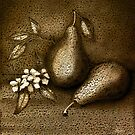 Copper Pears by Diane Johnson-Mosley