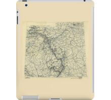 March 22 1945 World War II Twelfth Army Group Situation Map iPad Case/Skin