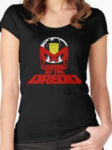 Dawn of the Dredd Women's Fitted Scoop T-Shirt