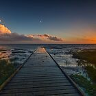 Lytham Jetty Sunset by Martin Lawrence