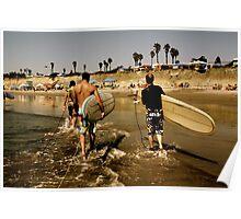 San Diego Surfing 2 Poster