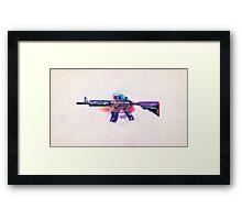 CS:GO M4A4 (Dragon King) Framed Print