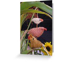 Chirp Chirp Greeting Card