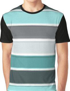 Blue Lines Graphic T-Shirt