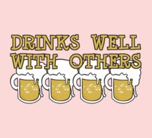Drinks Well with Others Kids Clothes