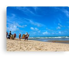 Buy a Painting on the Beach Canvas Print