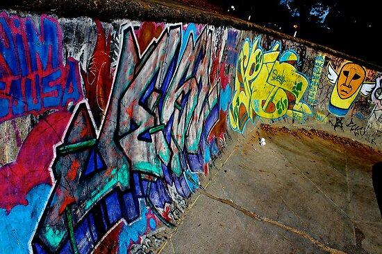 Graffiti Art in Brazil  by oftheessence