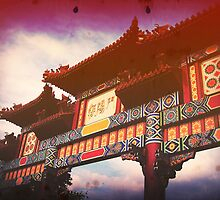 WDW Epcot: The Chinese Pavilion by Konoko479
