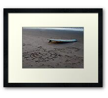Surf Brazil Framed Print
