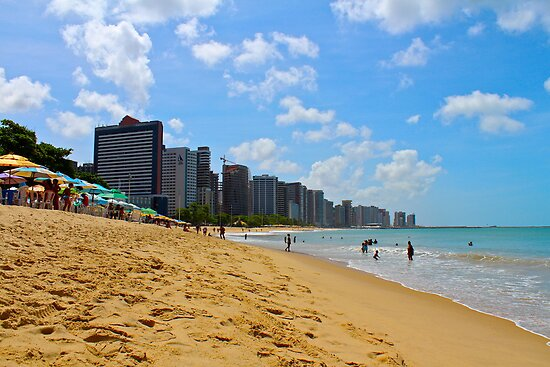Beach in Brazil by oftheessence