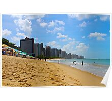 Beach in Brazil Poster