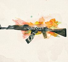 CS:GO AK-47 Wasteland Rebel by LexyLady