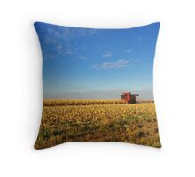 Evening Harvest Throw Pillow