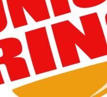 Onion Ring Junkie Sticker