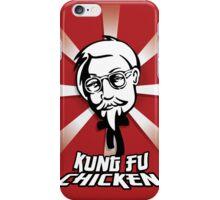Kung Fu Chincken iPhone Case/Skin
