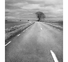 Country Road Less Traveled Photographic Print