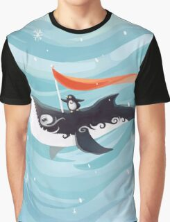 Grandpa Orca Graphic T-Shirt