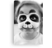 Panda Girl Canvas Print