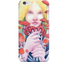 Keeper of the Scarlet Garden iPhone Case/Skin
