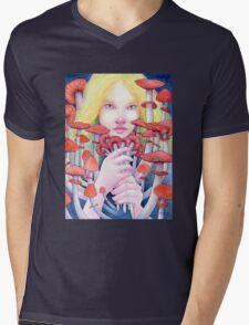 Keeper of the Scarlet Garden Mens V-Neck T-Shirt