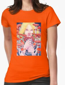 Keeper of the Scarlet Garden Womens Fitted T-Shirt