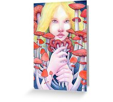 Keeper of the Scarlet Garden Greeting Card