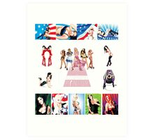 Schiffer Publishing's, The Contemporary Illustrated Pin-up. Art Print
