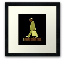 sexmachine - chocolate & lime - style no.1 Framed Print
