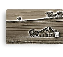 Old Shack HDR Canvas Print