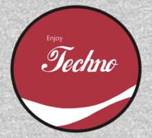 Enjoy Techno - Round by HighDesign