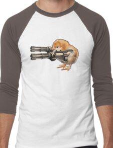 Guns Up Baby! Men's Baseball ¾ T-Shirt