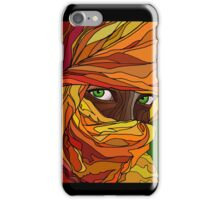 Cloaked girl iPhone Case/Skin