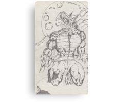 werewolf by moonlight Canvas Print
