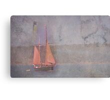 Sailing the Channel Canvas Print