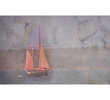 Sailing the Channel Photographic Print