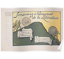 Souscrivez á lEmprunt de la Libération Poster