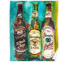 Yuengling Beer - Black and White, Lager and Light Beer Poster