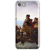 Washington Crossing the Delaware by Emanuel Leutze (1851) iPhone Case/Skin