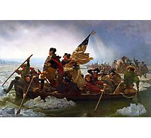 Washington Crossing the Delaware by Emanuel Leutze (1851) Photographic Print
